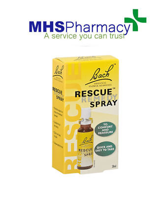 Nelsons Bach Rescue Remedy Spray 20ml • 13.49£
