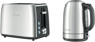 AU99 • Buy NEW Breville LKT640BSS Kettle & Toaster Pack