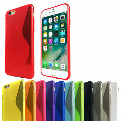 AU3.95 • Buy Thin Soft Gel Cover Tough Silicone Case For Apple IPhone 5 5s 5c SE 6 6s 7 Plus