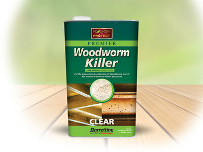 Barrettine Solvent Preserver Woodworm Killer Oil Wood Boring Insects Treatment  • 9.70£