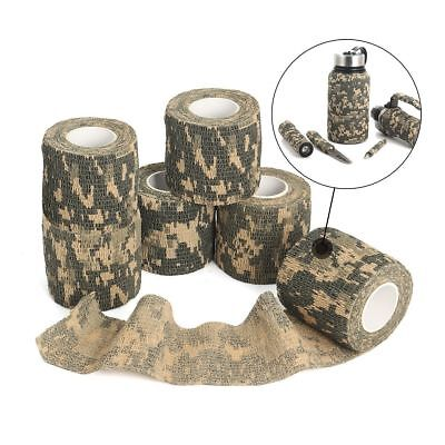 £1.25 • Buy Non-woven Camo Gun Hunting Waterproof Camping Camouflage Stealth Duct Tape Wrap