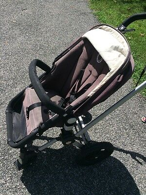 $125 • Buy Bugaboo Frog Black Single Stroller With Bassinet & Rain Cover & Pump For Tires