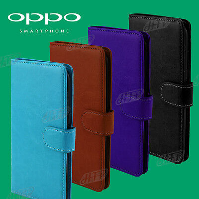 AU7.78 • Buy Slim Wallet Flip Credit Card Leather Stand Pouch Pocket Cover AU Oppo A73 Case