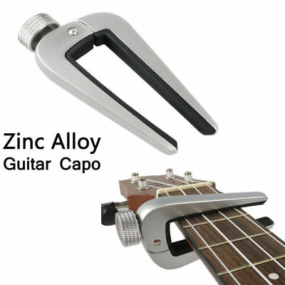 $ CDN14.93 • Buy Universal Guitar Capo Quick Change Clamp Tune Key For Electric Classical Guitar