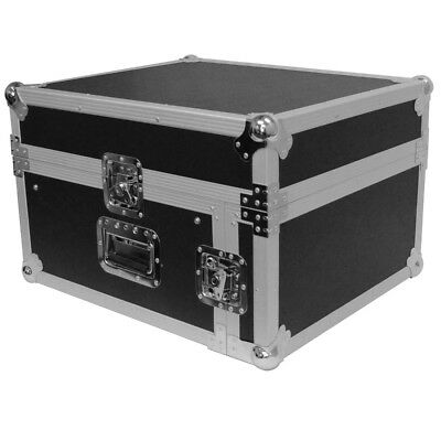 AU201.83 • Buy Seismic Audio 4 Space Rack Case W/ Slant Mixer Top-Amp Effect PA/DJ Pro Audio