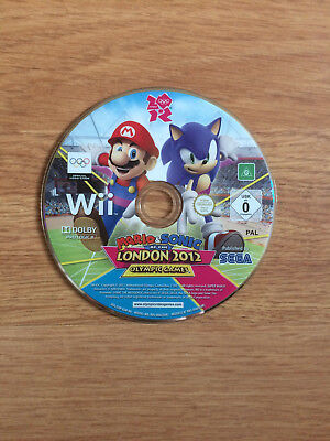 Mario And Sonic At The London 2012 Olympic Games For Nintendo Wii *Disc Only* • 5.99£
