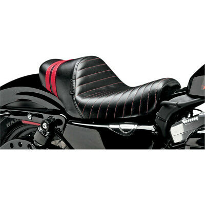 $314.96 • Buy Le Pera LK-416RED Stubs Spoiler Solo Seat W/ Red Stripes Sportster 04-06 10-17