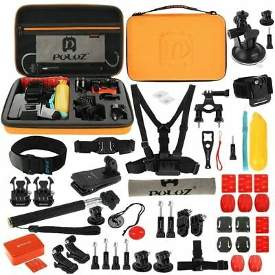 $ CDN87.49 • Buy PULUZ 53in1 Accessories Kit Bundle Set Bicyle Mount For GOPRO HERO 6 5 Session 4