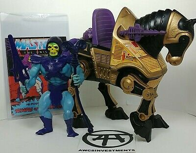 $159.95 • Buy HE MAN/MOTU*SKELETOR Soft Head *NIGHT STALKER With Tail Section*COMIC*SEE PICS*