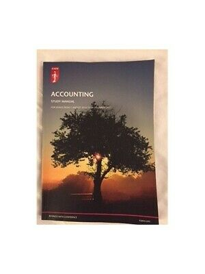 ICAEW Accounting Study Manual Aug 16 - Dec 17 Paperback ICAEW By ICAEW Book The • 6.99£