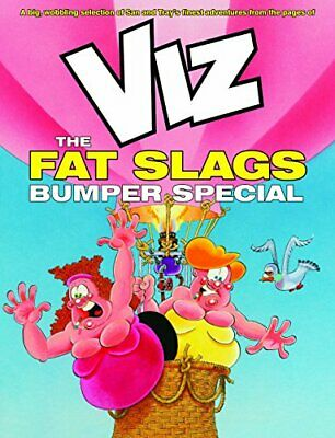 Viz The Fat Slags Bumper Special By Viz Book The Cheap Fast Free Post • 16.99£