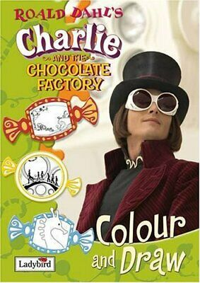 £5.49 • Buy Charlie And The Chocolate Factory Colour And Draw Book ... By Ladybird Paperback