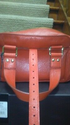 £267.72 • Buy A Mulberry MABEL Small Refined Grain Orange Leather Bag AW2008 - Brand New .