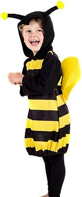 Baby Toddler Boys Girls Bumble Bee Insect Animal Fun Fancy Dress Costume Outfit  • 16.99£