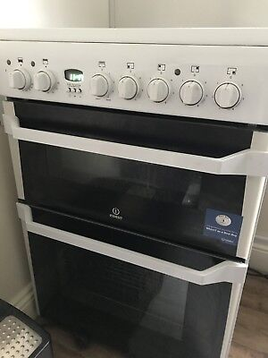 £350 • Buy Indesit ID60C2 White Double Electric Cooker -