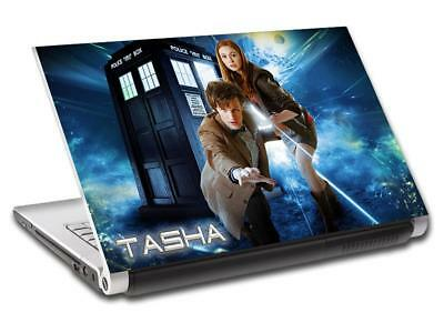 £11.99 • Buy Doctor Dr. Who Tardis Personalized LAPTOP Skin Decal Vinyl Sticker NAME L750