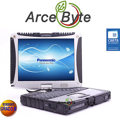 £342.60 • Buy Panasonic Cf-19 Toughbook 10 * Pc Convertibile Tablet * Gps * Touch Screen * Mk1