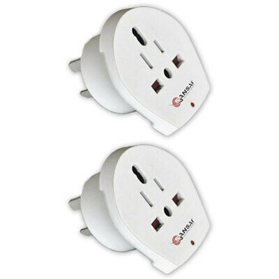 AU19 • Buy 2x Sansai Universal Travel Power Adapter Outlet UK US EU Sockets To AU/NZ Plug