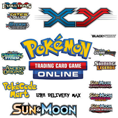 £4.99 • Buy Pokemon Codes Online TCGO Booster TCG Codes - Email Delivery - XY / SM / SWSH