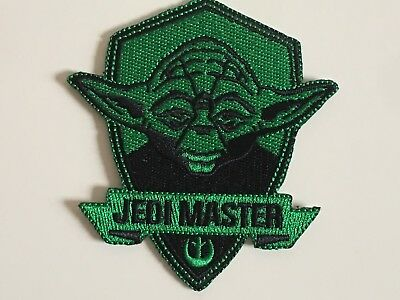 Star Wars Yoda Jedi Master Force Embroidered Iron On / Sew On Patches Badges  • 3.50£