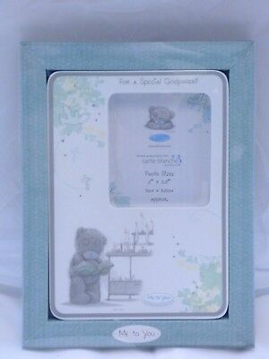 £7 • Buy Me To You   For Special Godparents   Porcelain Photo Frame - New & Boxed