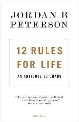 AU41.74 • Buy 12 Rules For Life: An Antidote To Chaos By Jordan B. Peterson (English) Hardcove
