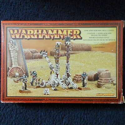 2002 Undead Screaming Skull Catapult Skeleton Warhammer Chucker Tomb Kings MIB • 110£
