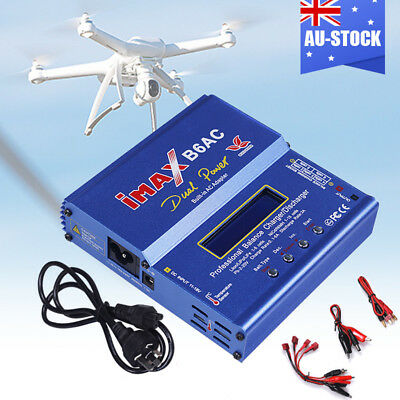 AU46.97 • Buy IMax Digital RC Lipo Lithium NiMh Battery Balance Charger Discharger B6AC 80w AU