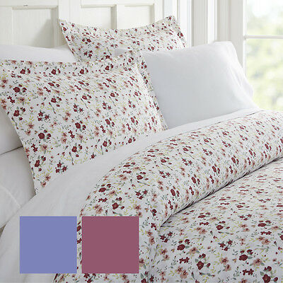 $25.99 • Buy Ultra Soft 3 Piece Blossoms Print Duvet Cover Set - Hotel Collection By IEnjoy
