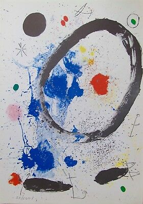 £35.40 • Buy Joan Miro TWILIGHT'S RING Facsimile Signed Limited Edition Lithograph Art