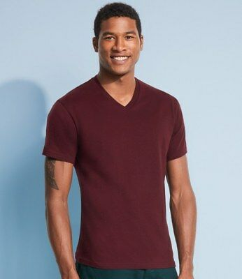 MENS V-NECK T-SHIRT (Sol's Short Sleeve Tee) Victory Clothing TEE - 13 Colours • 4.75£