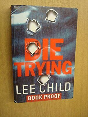 DIE TRYING By Lee Child Paperback Book The Cheap Fast Free Post • 5.99£