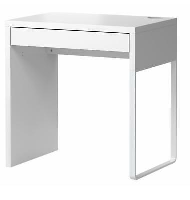 AU119.99 • Buy Desk Computer Wooden Table Workstation White Office Home Micke Student