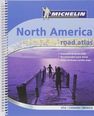 £3.99 • Buy Road Atlas North America 2007: Road Atlas : USA, Can... By Michelin Spiral Bound