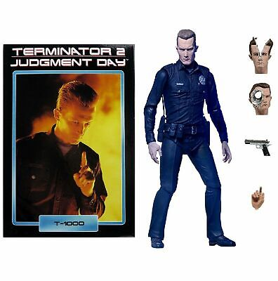 Terminator 2 (Judgment Day) Ultimate T-1000 Cop - 7  Action Figure (NECA) • 34.95£