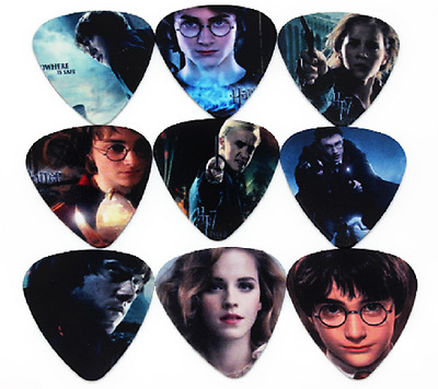$ CDN9.39 • Buy Harry Potter Hermione Guitar Picks Lot Of 10 .46 Mm Free Tracking Thin New