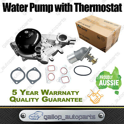 AU115 • Buy Water Pump With Thermostat For Holden Commodore VT VU VX VY VZ Gen3 V8 5.7L LS1