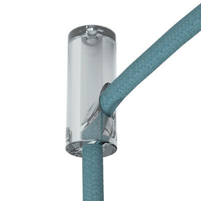 Transparent Decentraliser Cable Ceiling Hook - Clear Wire Hook - Cable Hook • 4.90£