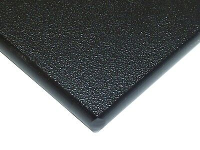 "$39 • Buy Black Marine Board HDPE Polyethylene Plastic Sheet 1/4"" - 0.250  Thick Textured"