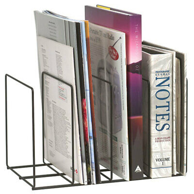 AU22 • Buy Marbig Wire Instyle Book/Magazine Rack Holder 4 Slot Desk Organiser Office/Home