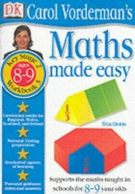£3.29 • Buy Maths Made Easy: Age 8-9 Book 3 (Maths Made Eas... By Vorderman, Carol Paperback