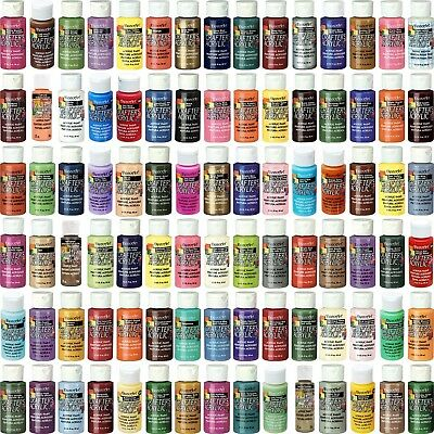 DecoArt - Acrylic Paint Crafters - All Purpose 59ml  2oz - 98 Colours • 2.98£