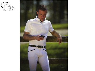 £35.77 • Buy Equitheme Gents Mens Mesh Technical Competition Show Shirt Jumping Dressage