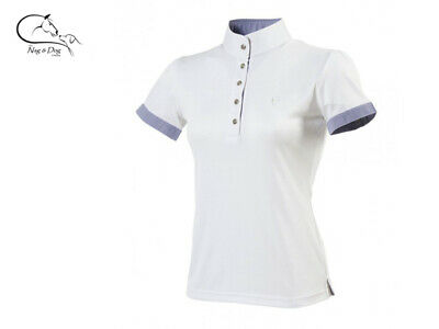 £36.21 • Buy Ekkia  Sky  Ladies Technical Competition Show Shirt Jumping Dressage FREE P&P