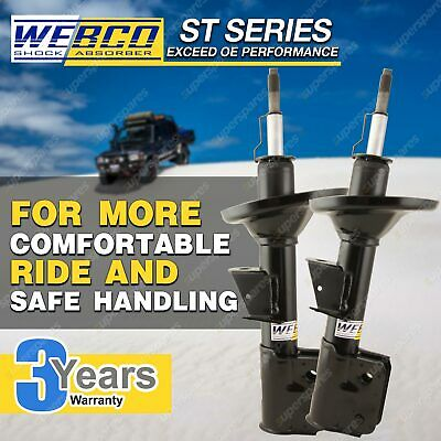 AU285.47 • Buy Pair Front Webco Elite Shock Absorbers For VOLKSWAGEN POLO 9N 1.4 Hatch 02-05