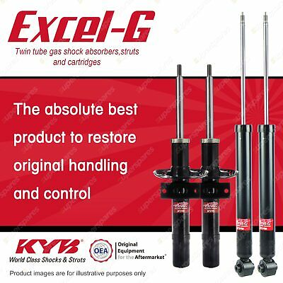 AU575.79 • Buy Front + Rear KYB EXCEL-G Shock Absorbers For VOLKSWAGEN Polo 9N I4 DT4 FWD