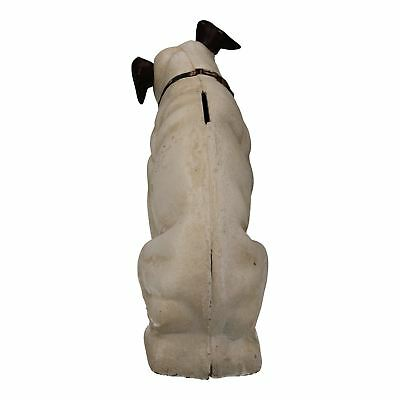 Large HMV Nipper Dog Music Figurine Cast Iron Money Bank Box Change Jar • 32.99£