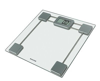 Salter Glass Digital Bathroom Scales – Electronic Body Weighing In Kg/St, Toughe • 32.99£