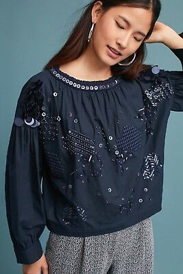 $ CDN76.40 • Buy Nwt Anthropologie Yami Bubbled Blouse- Size Small