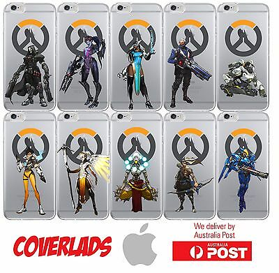 AU16.95 • Buy Silicone Cover Case Overwatch Heroes Online Game Classes - Coverlads
